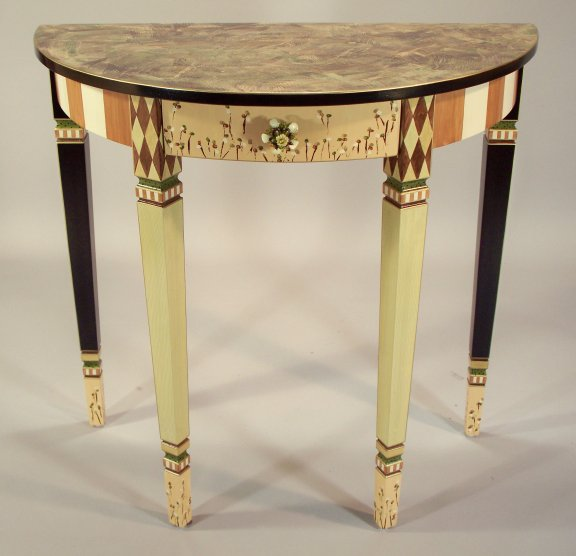 TWO-T-AT-DLHT-18-DEMI-LUNEHALLTABLE18CARAMEL-GREEN.JPG