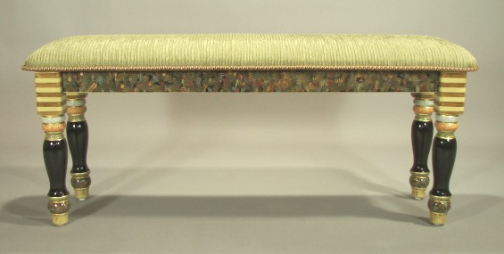 two-s-lb-27-longbench27greenfabric-bluetrim.jpg